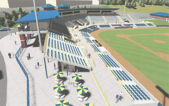 New West Virginia Ballpark