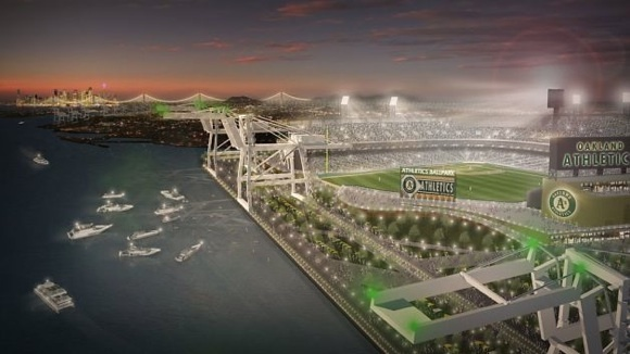 Proposed Oakland ballpark