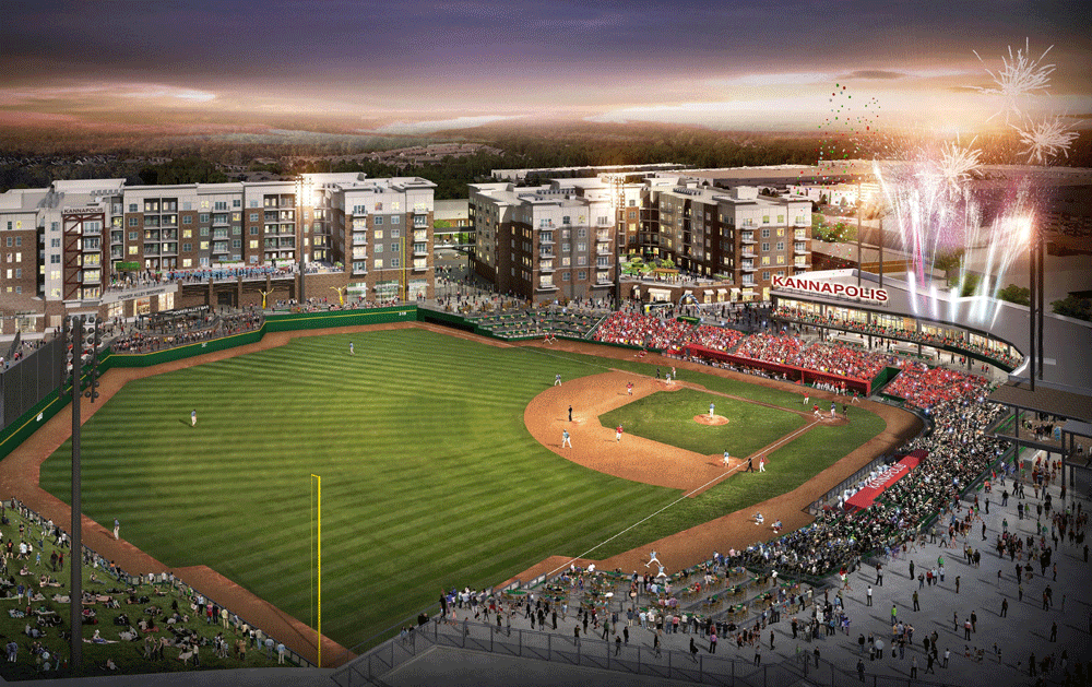 Downtown Kannapolis Ballpark Takes Shape Ballpark Digest