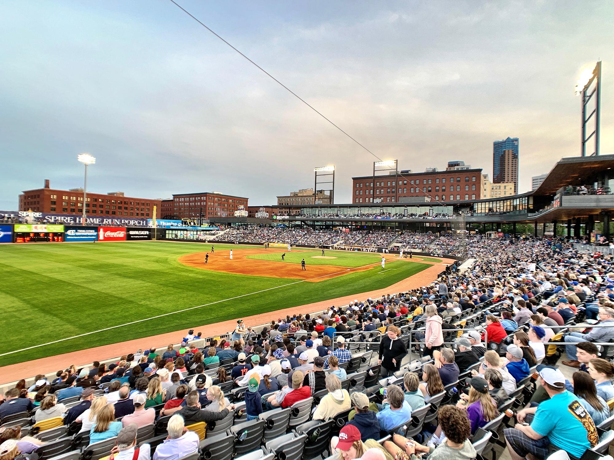 At CHS Field: St  Paul, City of Baseball | Ballpark Digest