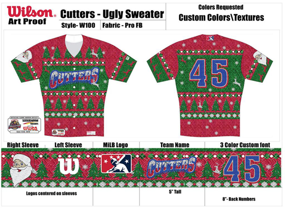 Crosscutters Christmas sweaters jersey
