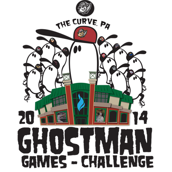 Ghost Man Game Logo