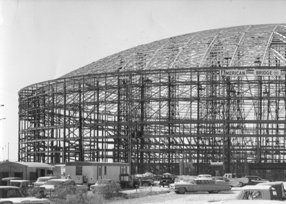 Astrodome construction