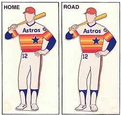 Astros Uniforms
