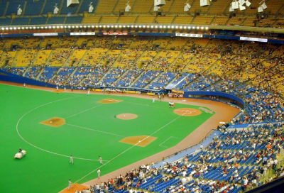 Montreal Expos at Olympic Stadium