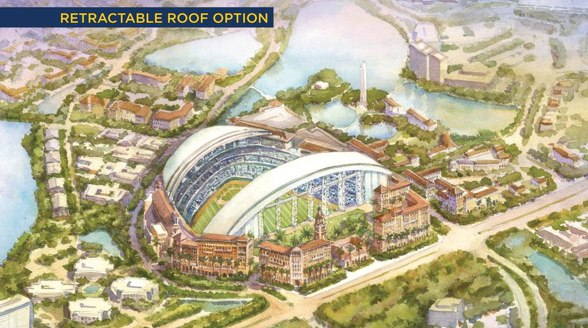 Proposed Tampa Bay Ballpark