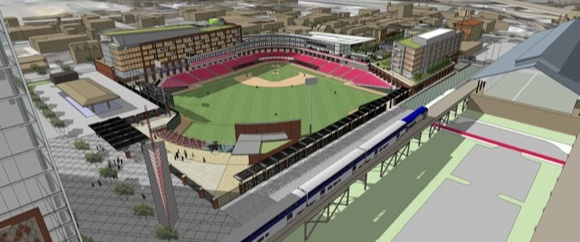 New Richmond Flying Squirrels ballpark