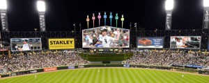 U.S. Cellular Field videoboards