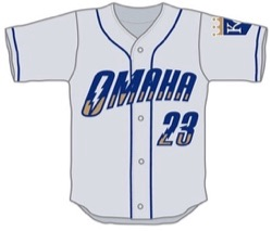 Omaha Storm Chasers 2016 road uniforms