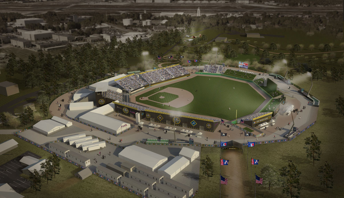 Fort Bragg ballpark