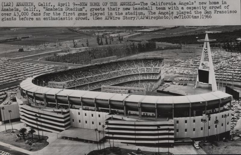 Anaheim Stadium opening