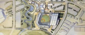 Proposed Texas Rangers ballpark