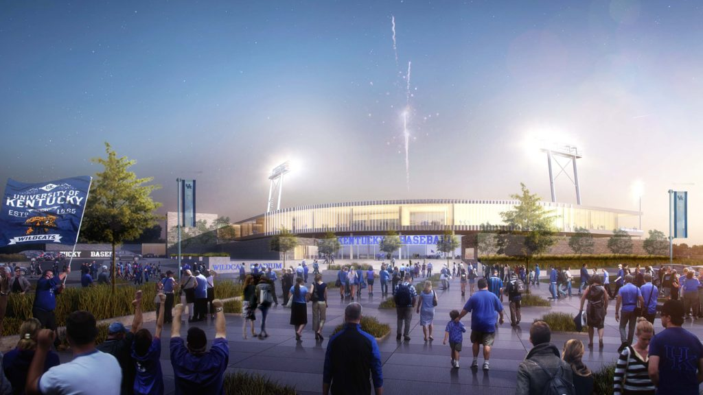 New University of Kentucky ballpark