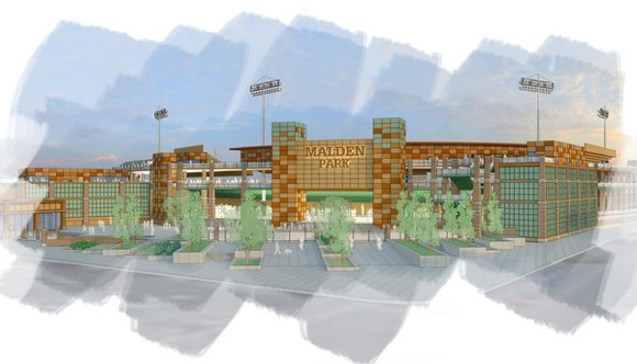 Proposed Malden ballpark