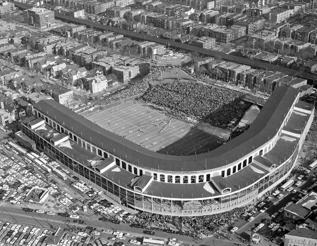 Chicago Bears at Wrigley Field, 1963