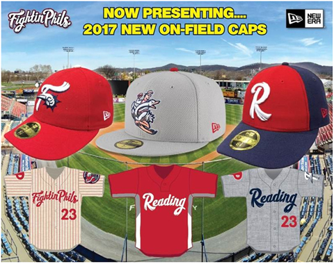 Fightin Phils New On Field Caps
