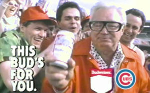 Harry Caray and Budweiser