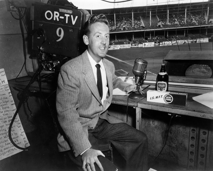 Vin Scully, Schaefer Beer
