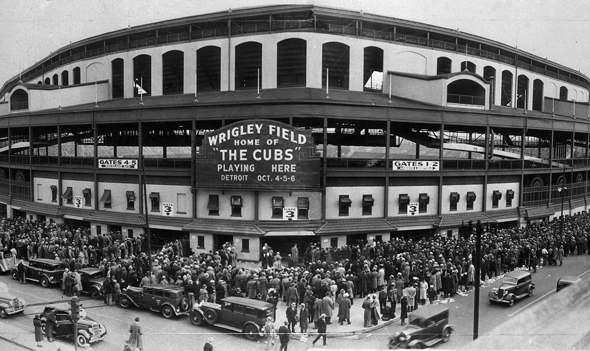 Wrigley Field 1935
