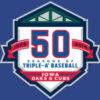 Iowa Cubs 50th anniversary logo
