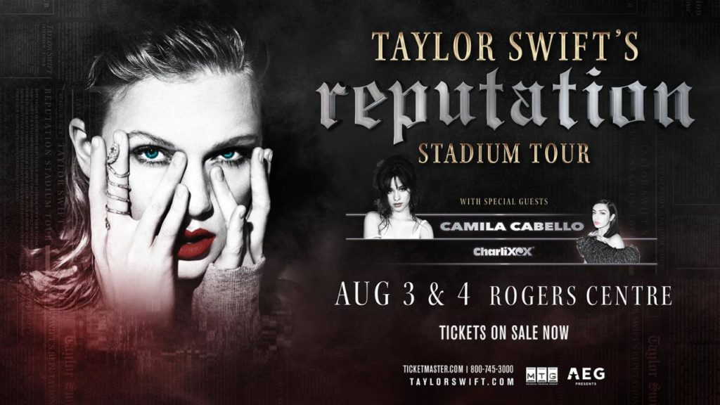 Taylor Swift Rogers Centre