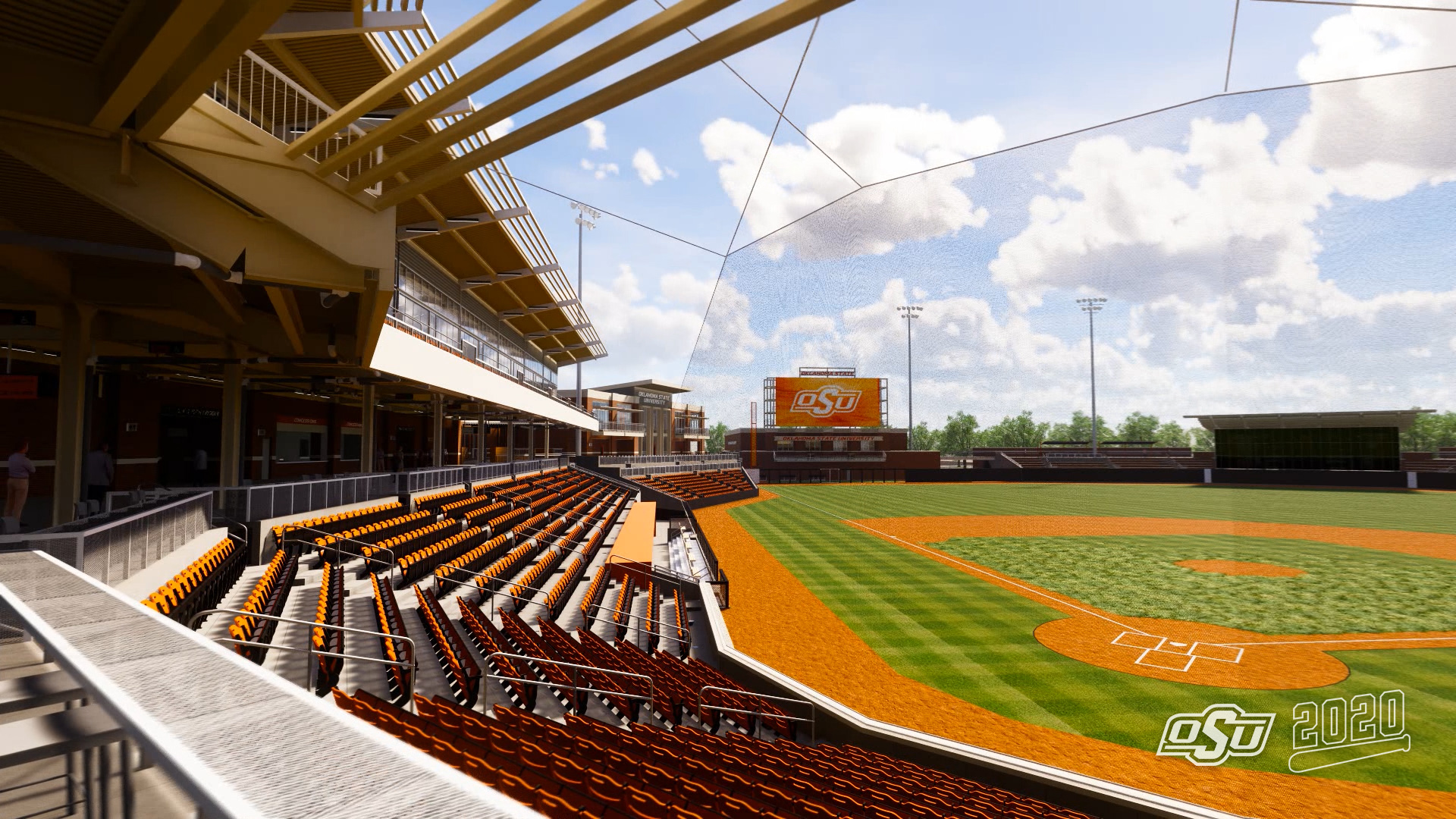 New Oklahoma State University ballpark