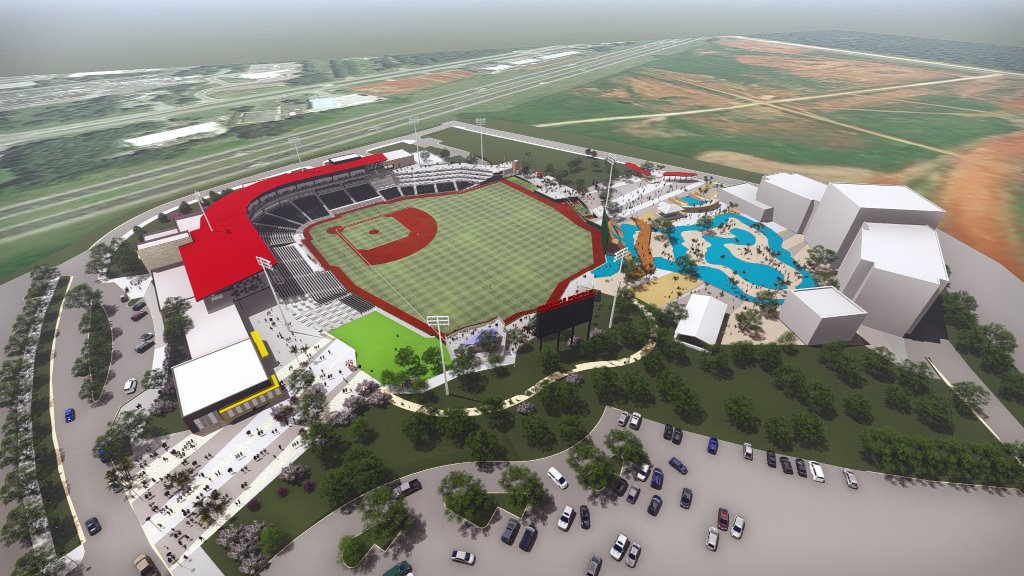 New Madison Ballpark Margaritaville rendering