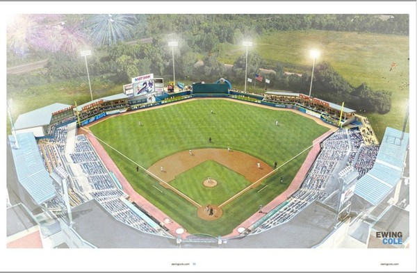 NBT Bank Stadium rendering