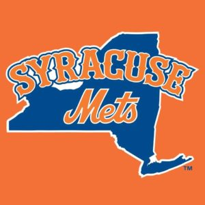 Syracuse Mets logo orange
