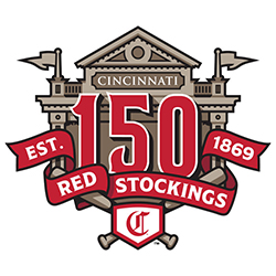 Cincinnati Reds 150th logo