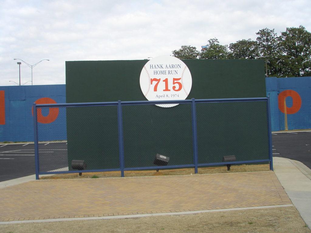 Atlanta-Fulton County Stadium 715 Wall