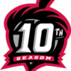 Richmond Flying Squirrels 10th season logo