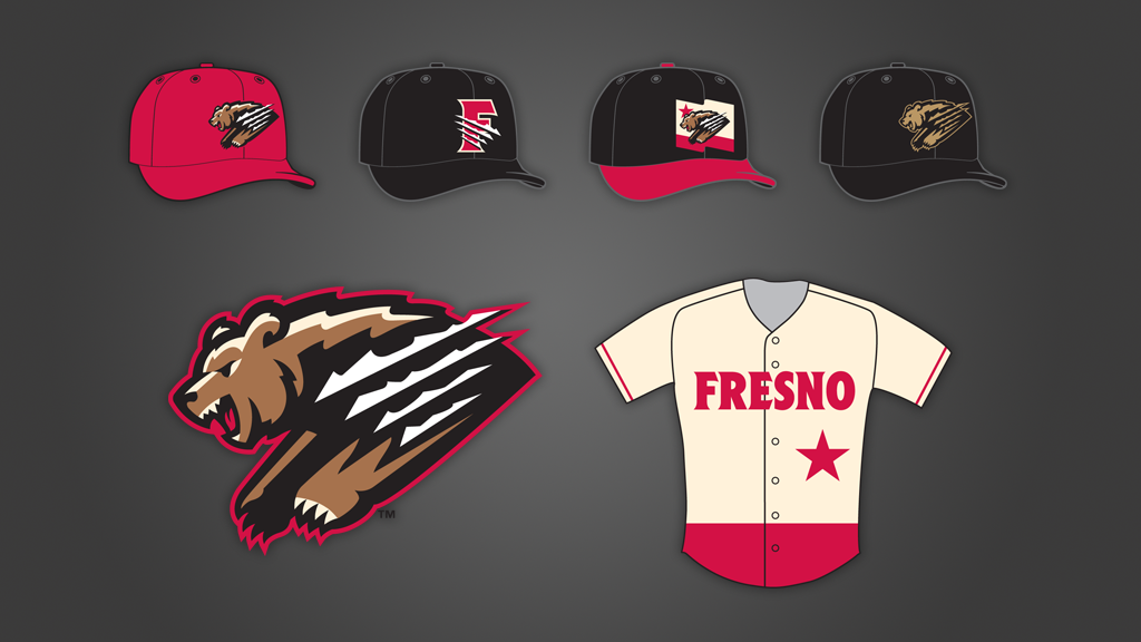 Fresno Grizzlies Home Jerseys & Caps