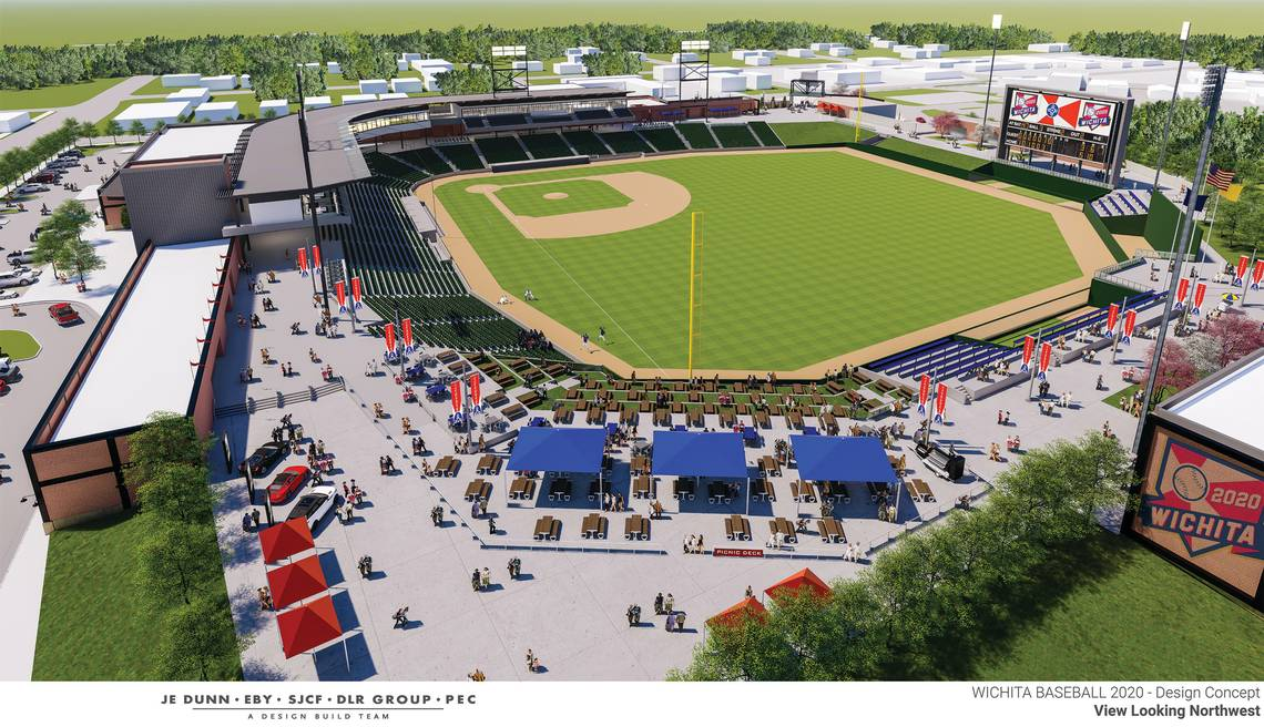 New Wichita Ballpark Design 3
