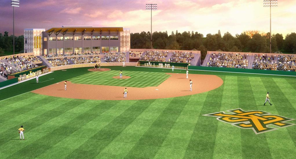Stillwell Baseball Stadium renovation rendering
