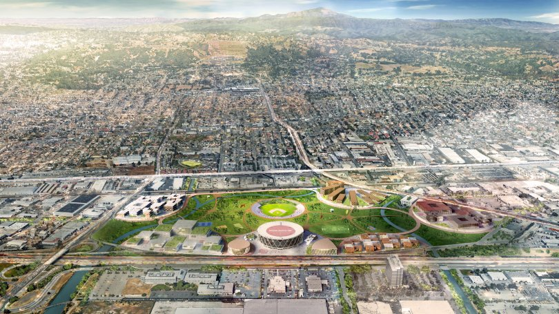 New Oakland Athletics Coliseum Redevelopment May 2019