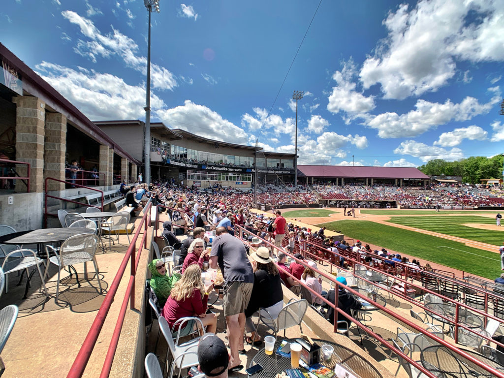 Neuroscience Group Field at Fox Cities Stadium 2019