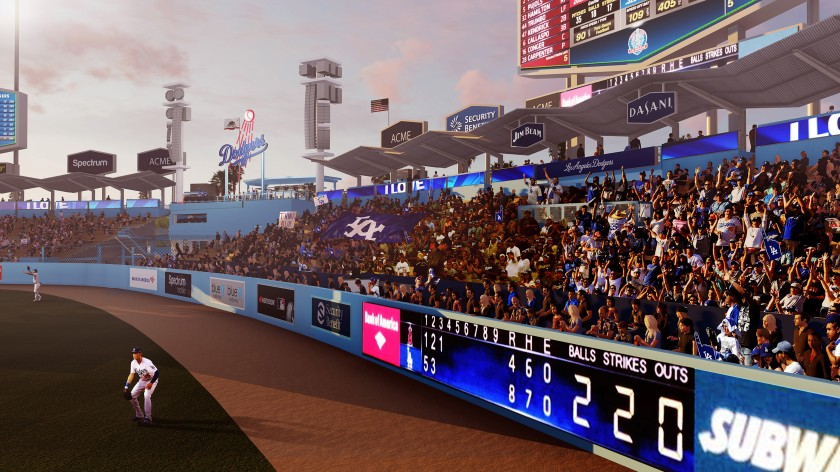 Dodger Stadium renovation rendering