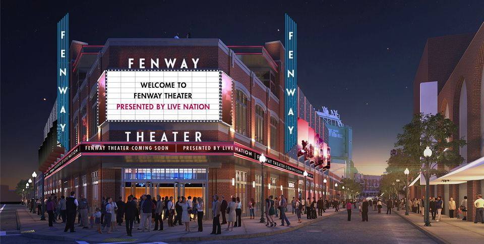 Fenway Theater rendering
