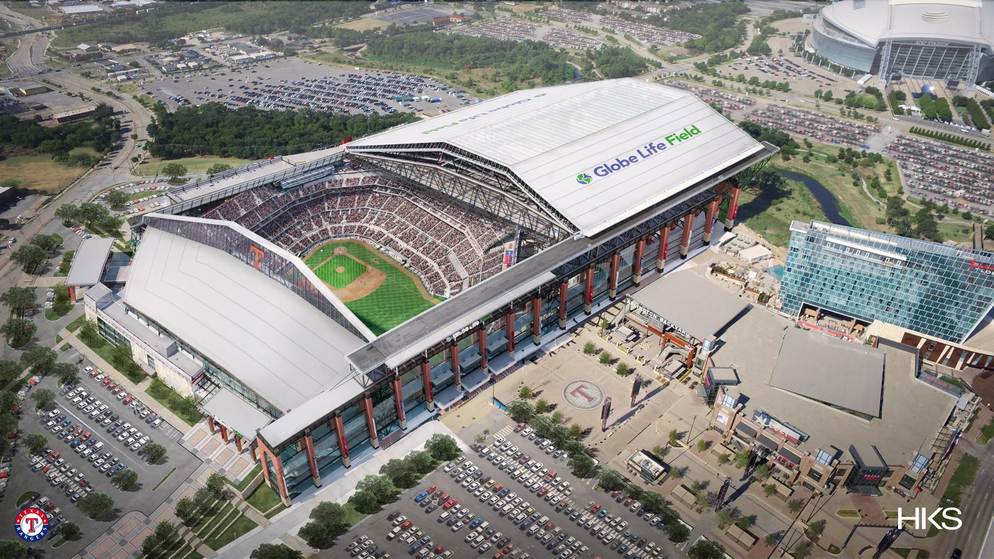 Rangers Release Updated Globe Life Field Renderings | Ballpark Digest
