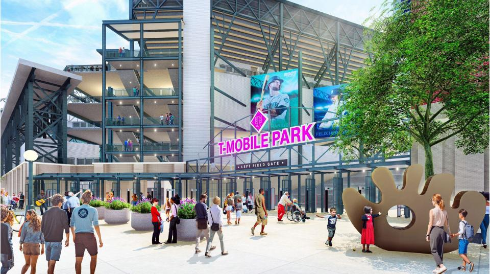 T-Mobile Park 2019 upgrades