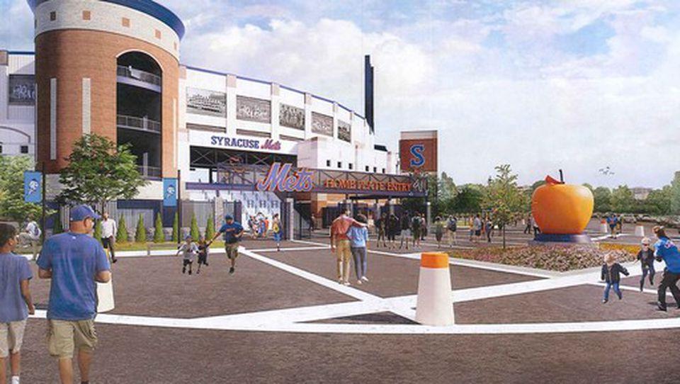 NBT Bank Stadium renovation rendering