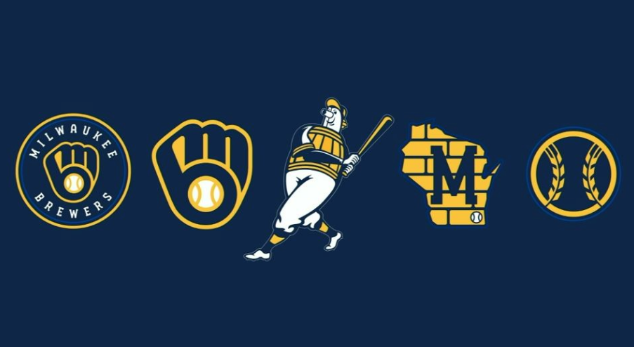 Milwaukee Brewers logos 2020