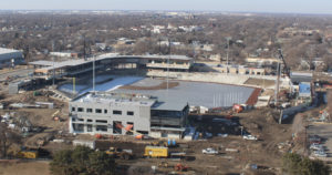 New Wichita ballpark construction