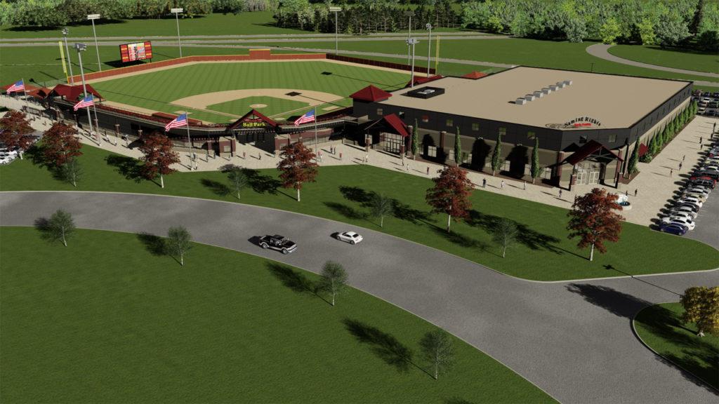 Oconomowoc ballpark rendering