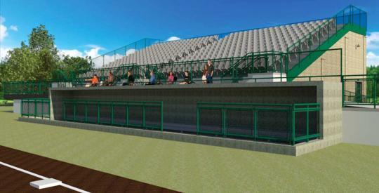 Carson Park upgrade rendering