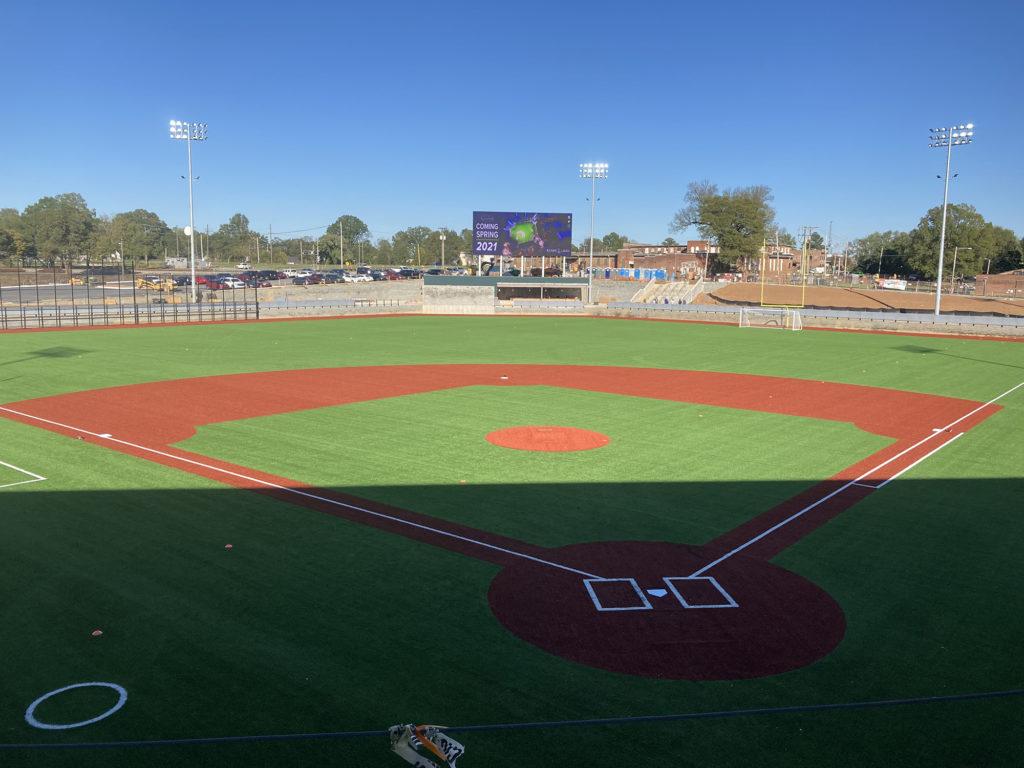 New Gastonia ballpark