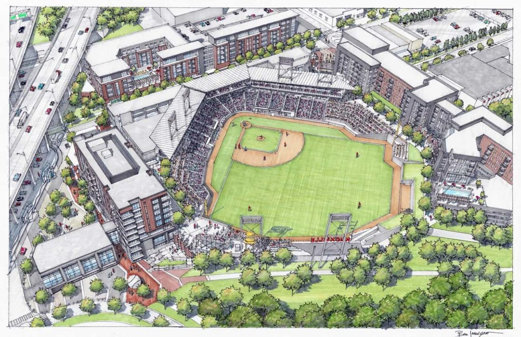 Proposed Knoxville ballpark